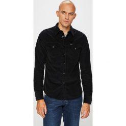 Lee - Koszula. Szare koszule męskie na spinki marki Lee, l, z bawełny, button down, z długim rękawem. Za 299,90 zł.