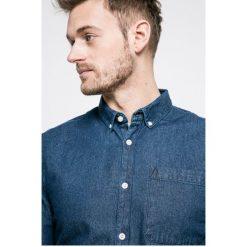 Review - Koszula. Szare koszule męskie jeansowe marki Review, l, button down, z długim rękawem. Za 119,90 zł.