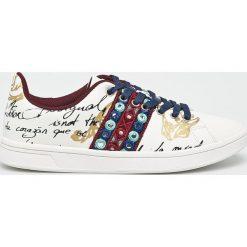 Desigual - Buty. Szare buty sportowe damskie marki Desigual, z materiału. W wyprzedaży za 279,90 zł.