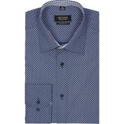 Koszula bexley 2246 długi rękaw custom fit granatowy. Czerwone koszule męskie na spinki marki Recman, m, z długim rękawem. Za 69,99 zł.