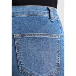 Topshop JONI NEW Jeans Skinny Fit mid denim. Niebieskie jeansy damskie Topshop. Za 209,00 zł.