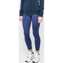 Adidas Performance - Legginsy. Niebieskie legginsy adidas Performance, l, z dzianiny. W wyprzedaży za 99,90 zł.