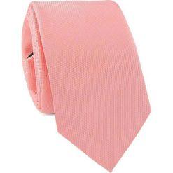 Krawat KWRR001480. Różowe krawaty męskie marki Reserved. Za 69,00 zł.