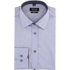 Koszula bexley 2611 długi rękaw slim fit niebieski. Szare koszule męskie slim marki Recman, na lato, l, w kratkę, button down, z krótkim rękawem. Za 139,00 zł.