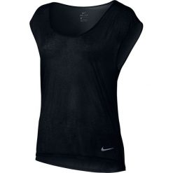 Topy sportowe damskie: koszulka do biegania damska NIKE BREATHE TOP SHORT SLEEVE COOL / 831784-010 – NIKE BREATHE TOP SHORT SLEEVE COOL