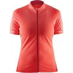 Craft Koszulka Rowerowa Glow W Orange S. Pomarańczowe bluzki sportowe damskie marki Craft, s, z meshu, z krótkim rękawem. W wyprzedaży za 219,00 zł.