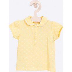 Blukids - Top dziecięcy 68-98 cm. Białe bluzki dziewczęce bawełniane Blukids, z krótkim rękawem. Za 39,90 zł.