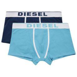 Diesel Zestaw Bokserek Męskich Damien 2 Szt. S Niebieski. Niebieskie bokserki męskie Diesel, z bawełny. Za 149,00 zł.