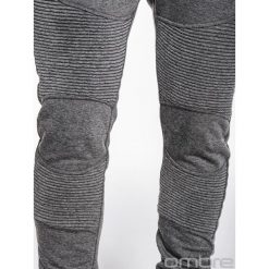 Spodnie dresowe męskie: SPODNIE MĘSKIE DRESOWE P427 – GRAFITOWE