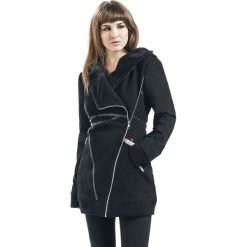 Płaszcze damskie pastelowe: Poizen Industries Reaver Jacket Płaszcz damski czarny