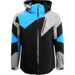 Kurtki narciarskie męskie: Spyder LEADER Kurtka narciarska black/polar/french blue