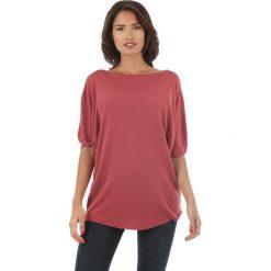 Sweter w kolorze bordowym. Czerwone swetry klasyczne damskie marki L'étoile du cachemire, z kaszmiru. W wyprzedaży za 108,95 zł.