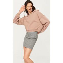 Spódniczki: Spódnica ołówkowa – Szary