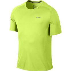 Koszulka do biegania męska NIKE DRI-FIT MILER SHORT SLEEVE / 683527-702 - NIKE DRI-FIT MILER SHORT SLEEVE. Zielone koszulki sportowe męskie marki Nike, m, z krótkim rękawem, do biegania, dri-fit (nike). Za 79,00 zł.