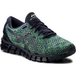 Buty ASICS - Gel-Quantum 360 Knit 2 T840N Peacoat/Green/White 5884. Niebieskie buty do biegania męskie Asics, z materiału. W wyprzedaży za 529,00 zł.