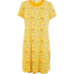 Sukienka shirtowa w kwiaty bonprix żółty kukurydziany w kwiaty. Żółte sukienki marki bonprix, w kwiaty. Za 74,99 zł.