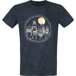 T-shirty męskie z nadrukiem: Harry Potter Hogwarts T-Shirt ciemnoszary (Anthracite)