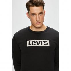 Levi's - Bluza. Brązowe bejsbolówki męskie Levi's®, l, z nadrukiem, z bawełny, bez kaptura. Za 219,90 zł.