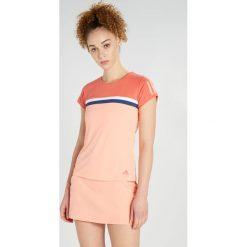 Adidas Performance CLUB TEE Tshirt z nadrukiem trasca. Pomarańczowe topy sportowe damskie adidas Performance, xs, z nadrukiem, z materiału. Za 159,00 zł.