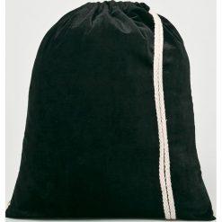 Answear - Plecak. Czarne plecaki damskie ANSWEAR, z poliesteru. W wyprzedaży za 39,90 zł.