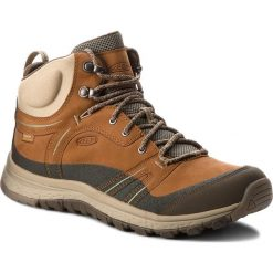 Trekkingi KEEN - Terradora Leather Mid Wp 1017752 Timber/Cornstalk. Brązowe buty trekkingowe damskie Keen. W wyprzedaży za 389,00 zł.