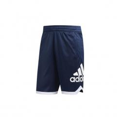 Szorty i Bermudy  adidas  Szorty Badge of Sport. Niebieskie bermudy męskie Adidas, sportowe. Za 129,00 zł.