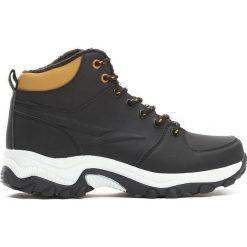 Czarne Buty Trekkingowe Predictable. Czarne buty zimowe damskie Born2be, na jesień. Za 129,99 zł.