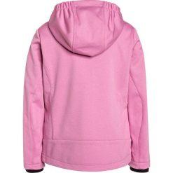 CMP GIRL JACKET FIX HOOD Kurtka Softshell rose melange/mojito. Czerwone kurtki damskie softshell marki CMP, z materiału. W wyprzedaży za 146,30 zł.