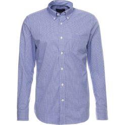 Koszule męskie na spinki: Cortefiel LONG SLEEVE GOBI N SOLID BUTTONDOWN TAILORED FIT Koszula marine blue