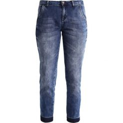 Boyfriendy damskie: Sisley Jeansy Straight Leg denim blue