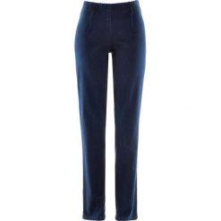 """Dżinsy """"SKINNY"""" bonprix ciemny denim nowy. Niebieskie jeansy damskie skinny marki House, z jeansu. Za 74,99 zł."""