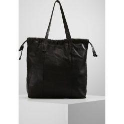 Topshop DRAWSTRING TOTE Torba na zakupy black. Czarne shopper bag damskie Topshop. Za 269,00 zł.