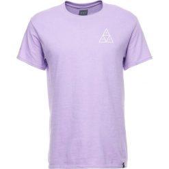 T-shirty męskie z nadrukiem: HUF TRIPLE TRIANGLE  Tshirt z nadrukiem lavender