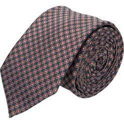 Krawat platinum granatowy classic 231. Niebieskie krawaty męskie Recman. Za 49,00 zł.