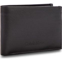 Portfele męskie: Duży Portfel Męski CALVIN KLEIN BLACK LABEL – Prime Fold 5Cc+Coin K50K503563 001