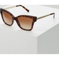 Michael Kors BARBADOS Okulary przeciwsłoneczne brown. Brązowe okulary przeciwsłoneczne damskie aviatory Michael Kors. Za 509,00 zł.