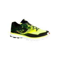 Buty do biegania Kiprace Trail 4 męskie. Żółte buty do biegania męskie marki KALENJI, z poliesteru. W wyprzedaży za 219,99 zł.