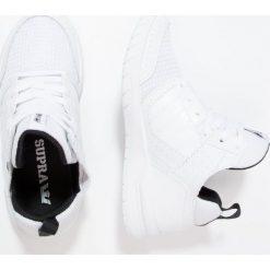 Supra METHOD Tenisówki i Trampki white. Białe trampki chłopięce Supra, z materiału. W wyprzedaży za 131,45 zł.