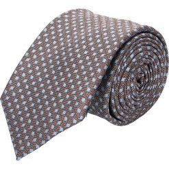 Krawaty męskie: krawat platinum niebieski classic 226