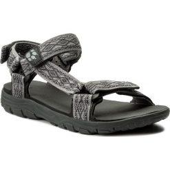 Sandały JACK WOLFSKIN - Seven Seas 2 Sandal M 4026651 Tarmac Grey. Czarne sandały męskie marki Jack Wolfskin, w paski, z materiału. Za 235,90 zł.