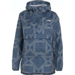 The North Face FANORAK Kurtka Outdoor blue teal. Niebieskie kurtki damskie The North Face, xs, z materiału, outdoorowe. Za 499,00 zł.