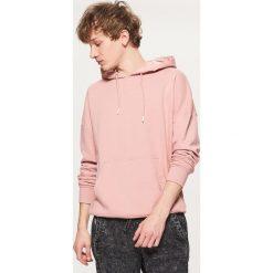 Bejsbolówki męskie: Bluza typu kangurka - Różowy
