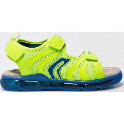 Geox - Sandały dziecięce. Białe sandały męskie skórzane marki Geox. W wyprzedaży za 199,90 zł.