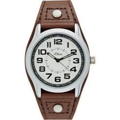 S.Oliver RED LABEL Zegarek braun. Brązowe zegarki męskie marki s.Oliver RED LABEL. W wyprzedaży za 223,20 zł.