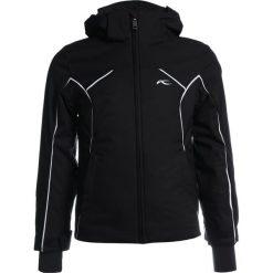Kjus FORMULA Kurtka narciarska black. Czarne kurtki chłopięce Kjus, z materiału, narciarskie. W wyprzedaży za 545,35 zł.