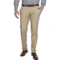 Spodnie daroca 214 beż. Brązowe t-shirty męskie Recman, z bawełny. Za 99,99 zł.