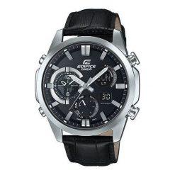 Zegarek Casio Męski ERA-500L-1AER Edifice Termometr czarny. Czarne zegarki męskie CASIO. Za 1029,91 zł.