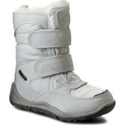 Kozaki dziewczęce: Śniegowce KAPPA – Tundra Tex Kids 260484K White 1010