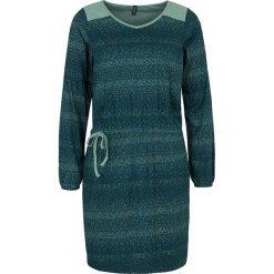 """Sukienki hiszpanki: Sukienka """"Xefe"""" w kolorze morskim"""