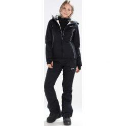 Bench BOLD SOLID JACKET Kurtka snowboardowa black beauty. Czarne bomberki damskie Bench, xl, z materiału, narciarskie. W wyprzedaży za 543,20 zł.
